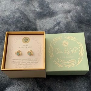 Sea La Vie Live Simply Earrings